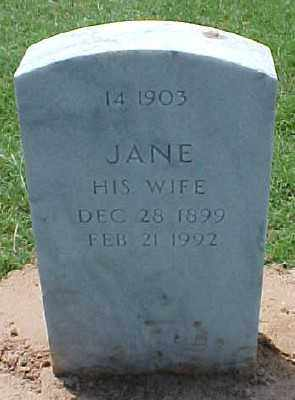 FRIDAY, JANE - Pulaski County, Arkansas | JANE FRIDAY - Arkansas Gravestone Photos