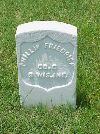 FRIEDRICK (VETERAN UNION), PHILLIP - Pulaski County, Arkansas | PHILLIP FRIEDRICK (VETERAN UNION) - Arkansas Gravestone Photos
