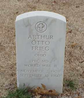 FRIEG  (VETERAN WWII), ARTHUR OTTO - Pulaski County, Arkansas | ARTHUR OTTO FRIEG  (VETERAN WWII) - Arkansas Gravestone Photos