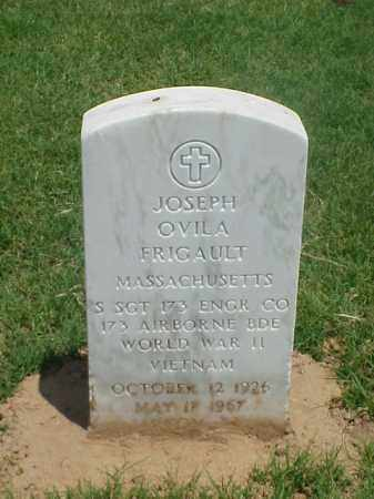 FRIGAULT (VETERAN 2 WARS), JOSEPH OVILA - Pulaski County, Arkansas | JOSEPH OVILA FRIGAULT (VETERAN 2 WARS) - Arkansas Gravestone Photos