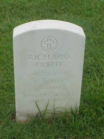 FRITH (VETERAN), RICHARD - Pulaski County, Arkansas | RICHARD FRITH (VETERAN) - Arkansas Gravestone Photos
