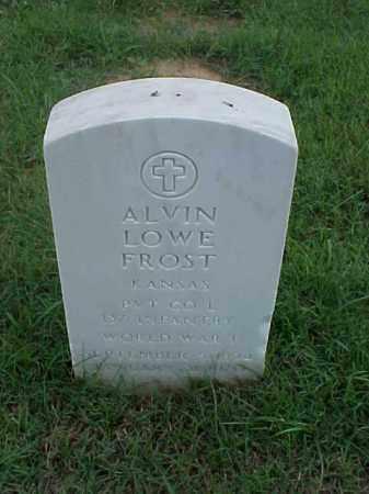FROST (VETERAN WWI), ALVIN LOWE - Pulaski County, Arkansas | ALVIN LOWE FROST (VETERAN WWI) - Arkansas Gravestone Photos