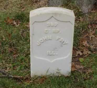 FRY (VETERAN UNION), JOHN - Pulaski County, Arkansas | JOHN FRY (VETERAN UNION) - Arkansas Gravestone Photos