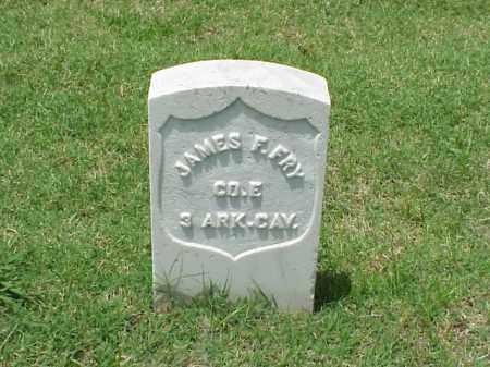 FRY (VETERAN UNION), JAMES F - Pulaski County, Arkansas | JAMES F FRY (VETERAN UNION) - Arkansas Gravestone Photos