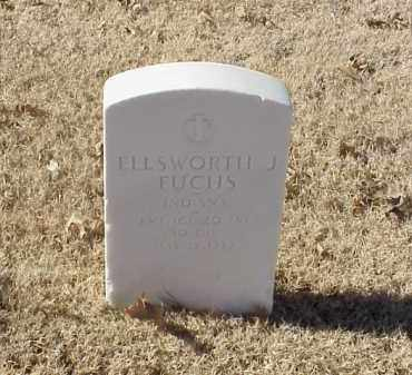 FUCHS (VETERAN), ELLSWORTH J - Pulaski County, Arkansas | ELLSWORTH J FUCHS (VETERAN) - Arkansas Gravestone Photos