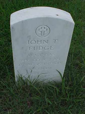 FUDGE (VETERAN VIET), JOHN T - Pulaski County, Arkansas | JOHN T FUDGE (VETERAN VIET) - Arkansas Gravestone Photos