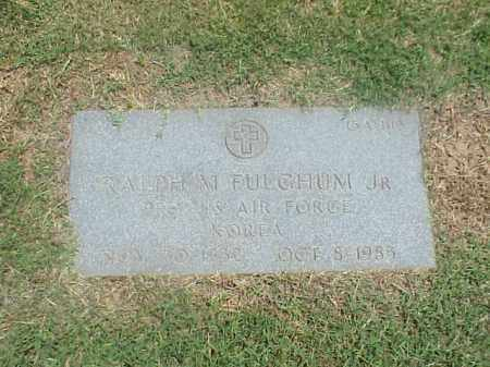 FULCHUM, JR (VETERAN KOR), RALPH M - Pulaski County, Arkansas | RALPH M FULCHUM, JR (VETERAN KOR) - Arkansas Gravestone Photos