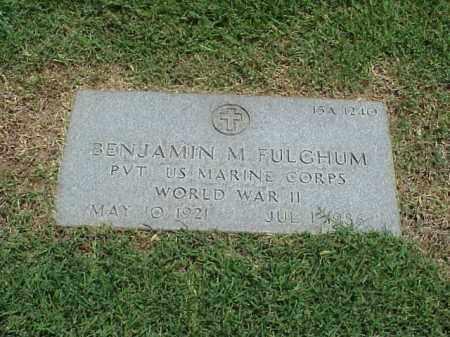 FULGHUM (VETERAN WWII), BENJAMIN M - Pulaski County, Arkansas | BENJAMIN M FULGHUM (VETERAN WWII) - Arkansas Gravestone Photos