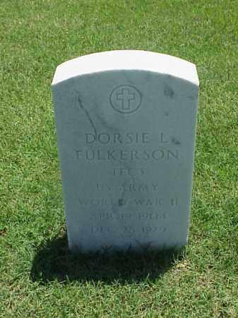 FULKERSON (VETERAN WWII), DORSIE L - Pulaski County, Arkansas | DORSIE L FULKERSON (VETERAN WWII) - Arkansas Gravestone Photos