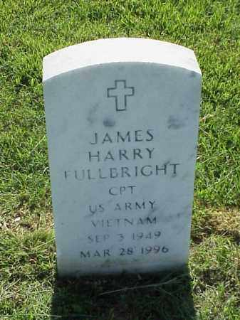 FULLBRIGHT (VETERAN VIET), JAMES HARRY - Pulaski County, Arkansas | JAMES HARRY FULLBRIGHT (VETERAN VIET) - Arkansas Gravestone Photos