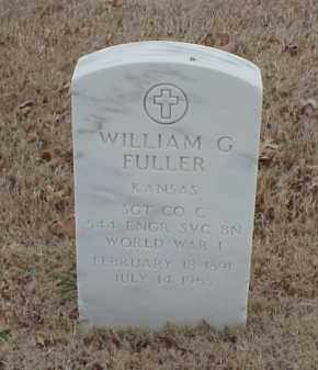 FULLER  (VETERAN WWI), WILLIAM G - Pulaski County, Arkansas | WILLIAM G FULLER  (VETERAN WWI) - Arkansas Gravestone Photos