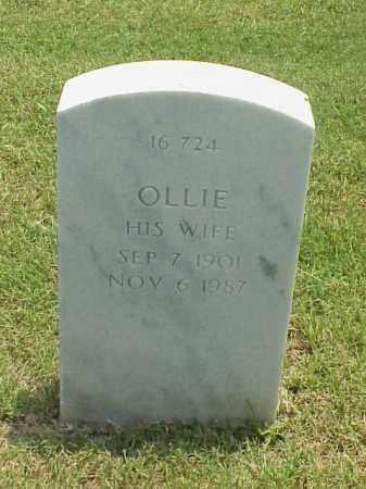 FULLER, OLLIE - Pulaski County, Arkansas | OLLIE FULLER - Arkansas Gravestone Photos