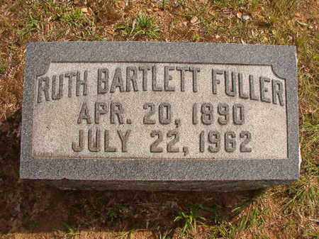 BARTLETT FULLER, RUTH - Pulaski County, Arkansas | RUTH BARTLETT FULLER - Arkansas Gravestone Photos