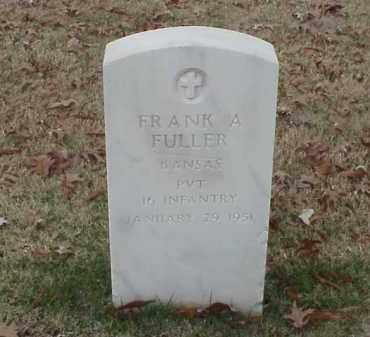 FULLER (VETERAN SAW), FRANK A - Pulaski County, Arkansas | FRANK A FULLER (VETERAN SAW) - Arkansas Gravestone Photos
