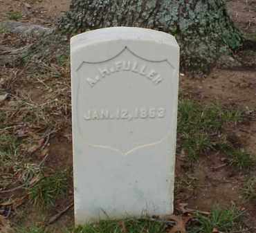 FULLER (VETERAN UNION), A H - Pulaski County, Arkansas | A H FULLER (VETERAN UNION) - Arkansas Gravestone Photos