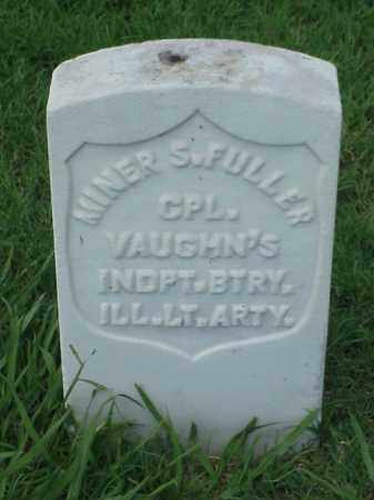 FULLER (VETERAN UNION), MINER S - Pulaski County, Arkansas | MINER S FULLER (VETERAN UNION) - Arkansas Gravestone Photos