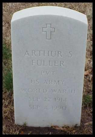 FULLER (VETERAN WWII), ARTHUR S - Pulaski County, Arkansas | ARTHUR S FULLER (VETERAN WWII) - Arkansas Gravestone Photos