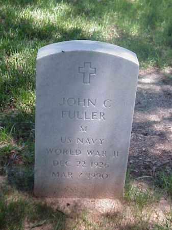 FULLER (VETERAN WWII), JOHN C - Pulaski County, Arkansas | JOHN C FULLER (VETERAN WWII) - Arkansas Gravestone Photos