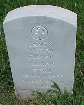 FULLER (VETERAN 2 WARS), JAMES VICTOR - Pulaski County, Arkansas | JAMES VICTOR FULLER (VETERAN 2 WARS) - Arkansas Gravestone Photos