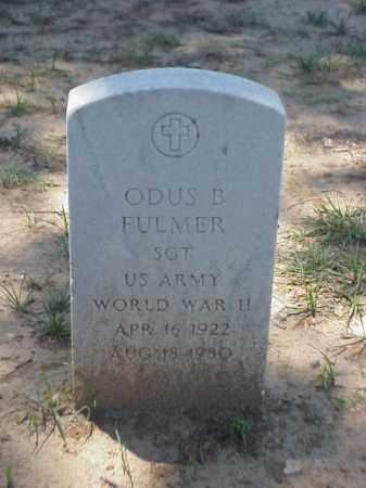 FULMER  (VETERAN WWII), ODUS B - Pulaski County, Arkansas | ODUS B FULMER  (VETERAN WWII) - Arkansas Gravestone Photos