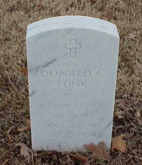 FUNK  (VETERAN VIET), DONALD C - Pulaski County, Arkansas | DONALD C FUNK  (VETERAN VIET) - Arkansas Gravestone Photos