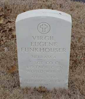 FUNKHOUSER  (VETERAN WWII), VIRGIL EUGENE - Pulaski County, Arkansas | VIRGIL EUGENE FUNKHOUSER  (VETERAN WWII) - Arkansas Gravestone Photos