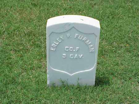 FURMAN (VETERAN UNION), ERLEY P - Pulaski County, Arkansas | ERLEY P FURMAN (VETERAN UNION) - Arkansas Gravestone Photos