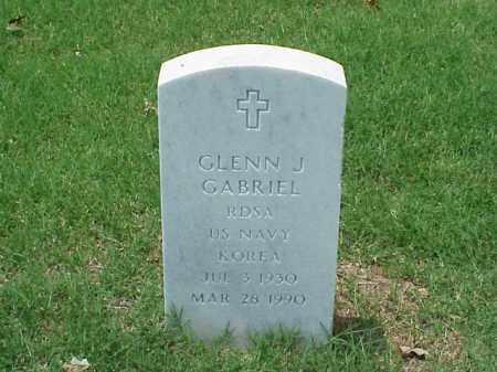 GABRIEL (VETERAN KOR), GLENN J - Pulaski County, Arkansas | GLENN J GABRIEL (VETERAN KOR) - Arkansas Gravestone Photos