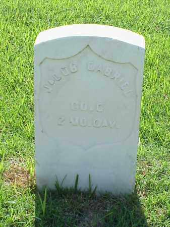 GABRIEL (VETERAN UNION), JACOB - Pulaski County, Arkansas | JACOB GABRIEL (VETERAN UNION) - Arkansas Gravestone Photos