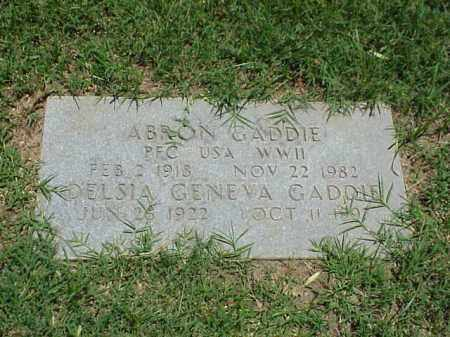 GADDIE, DELSIA GENEVA - Pulaski County, Arkansas | DELSIA GENEVA GADDIE - Arkansas Gravestone Photos