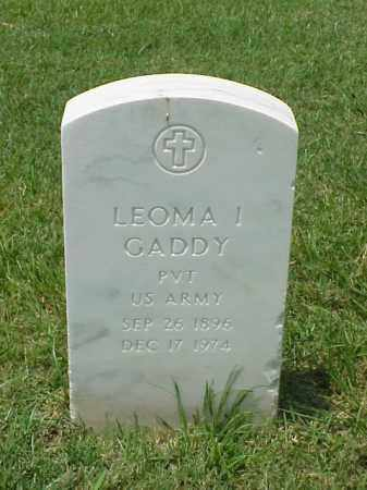 GADDY (VETERAN WWI), LEOMA I - Pulaski County, Arkansas | LEOMA I GADDY (VETERAN WWI) - Arkansas Gravestone Photos