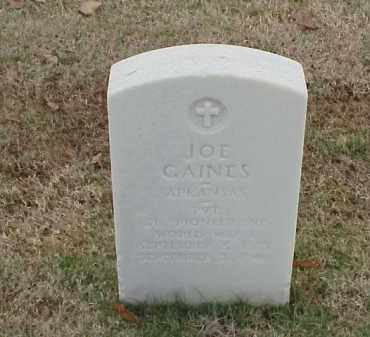 GAINES (VETERAN WWI), JOE - Pulaski County, Arkansas | JOE GAINES (VETERAN WWI) - Arkansas Gravestone Photos