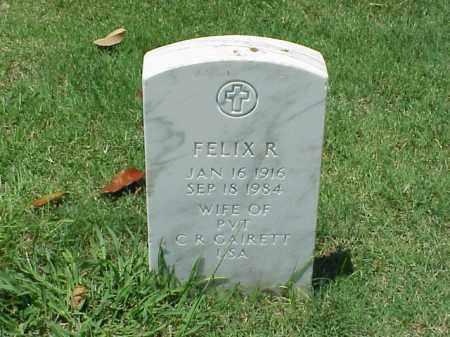 GAIRETT, FELIX R - Pulaski County, Arkansas | FELIX R GAIRETT - Arkansas Gravestone Photos