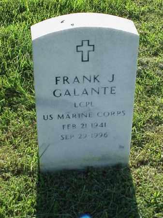 GALANTE (VETERAN), FRANK J - Pulaski County, Arkansas | FRANK J GALANTE (VETERAN) - Arkansas Gravestone Photos