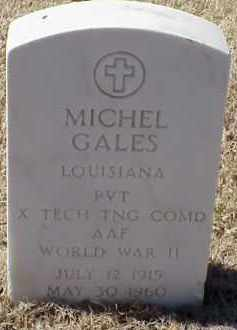 GALES  (VETERAN WWII), MICHEL - Pulaski County, Arkansas | MICHEL GALES  (VETERAN WWII) - Arkansas Gravestone Photos