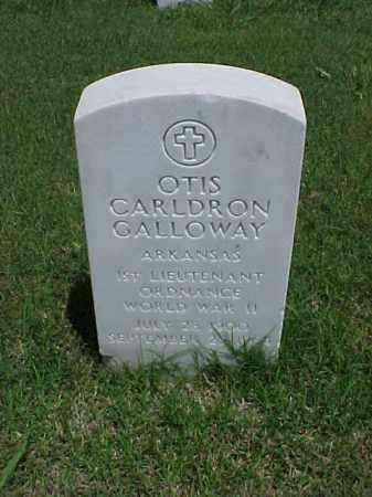 GALLOWAY (VETERAN WWII), OTIS CARLDRON - Pulaski County, Arkansas   OTIS CARLDRON GALLOWAY (VETERAN WWII) - Arkansas Gravestone Photos