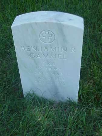 GAMMEL (VETERAN WWII), BENJAMIN R - Pulaski County, Arkansas | BENJAMIN R GAMMEL (VETERAN WWII) - Arkansas Gravestone Photos