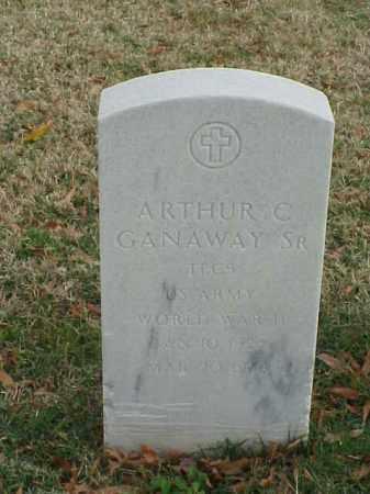GANAWAY, SR (VETERAN WWII), ARTHUR C - Pulaski County, Arkansas | ARTHUR C GANAWAY, SR (VETERAN WWII) - Arkansas Gravestone Photos