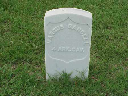 GANDELL (VETERAN UNION), MARCUS - Pulaski County, Arkansas | MARCUS GANDELL (VETERAN UNION) - Arkansas Gravestone Photos