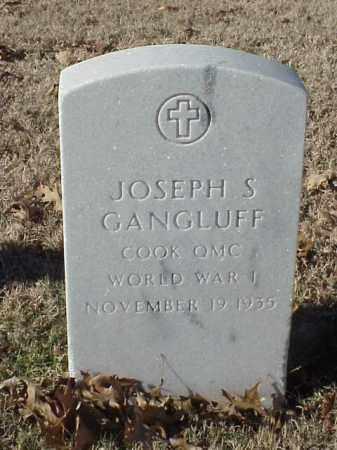 GANGLUFF (VETERAN WWI), JOSEPH S - Pulaski County, Arkansas | JOSEPH S GANGLUFF (VETERAN WWI) - Arkansas Gravestone Photos