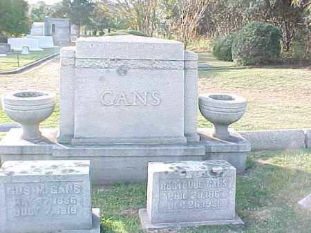 GANS FAMILY STONE,  - Pulaski County, Arkansas |  GANS FAMILY STONE - Arkansas Gravestone Photos