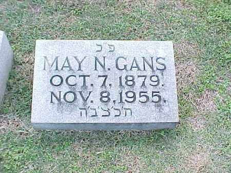 GANS, MAY N - Pulaski County, Arkansas | MAY N GANS - Arkansas Gravestone Photos