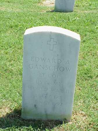 GANSCHOW (VETERAN WWII), EDWARD A - Pulaski County, Arkansas | EDWARD A GANSCHOW (VETERAN WWII) - Arkansas Gravestone Photos