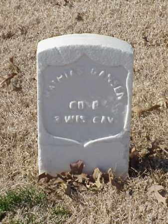 GANSEN (VETERAN UNION), MATHIAS - Pulaski County, Arkansas | MATHIAS GANSEN (VETERAN UNION) - Arkansas Gravestone Photos