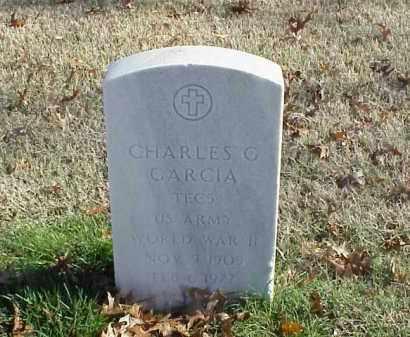 GARCIA (VETERAN WWII), CHARLES G - Pulaski County, Arkansas | CHARLES G GARCIA (VETERAN WWII) - Arkansas Gravestone Photos