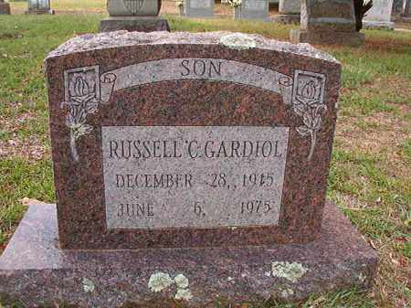 GARDIOL, RUSSELL C - Pulaski County, Arkansas | RUSSELL C GARDIOL - Arkansas Gravestone Photos