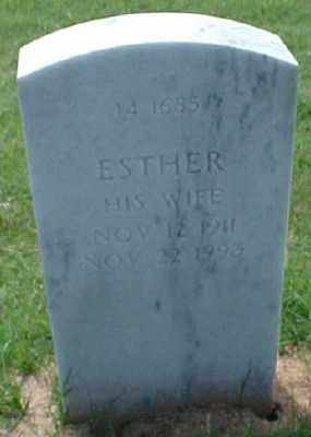 GARDNER, ESTHER - Pulaski County, Arkansas | ESTHER GARDNER - Arkansas Gravestone Photos