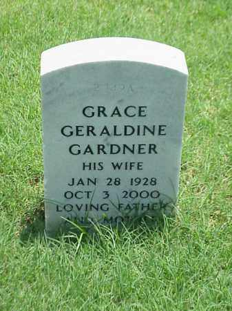 GARDNER, GRACE GERALDINE - Pulaski County, Arkansas | GRACE GERALDINE GARDNER - Arkansas Gravestone Photos