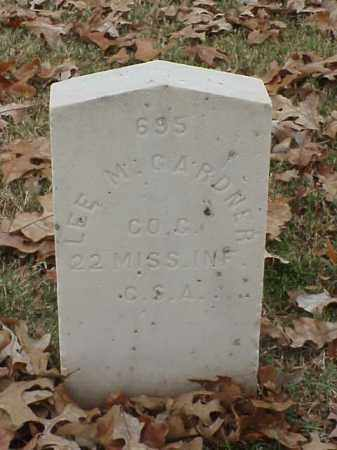 GARDNER (VETERAN CSA), LEE M - Pulaski County, Arkansas | LEE M GARDNER (VETERAN CSA) - Arkansas Gravestone Photos