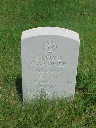 GARDNER (VETERAN KOR), LLOYD - Pulaski County, Arkansas | LLOYD GARDNER (VETERAN KOR) - Arkansas Gravestone Photos